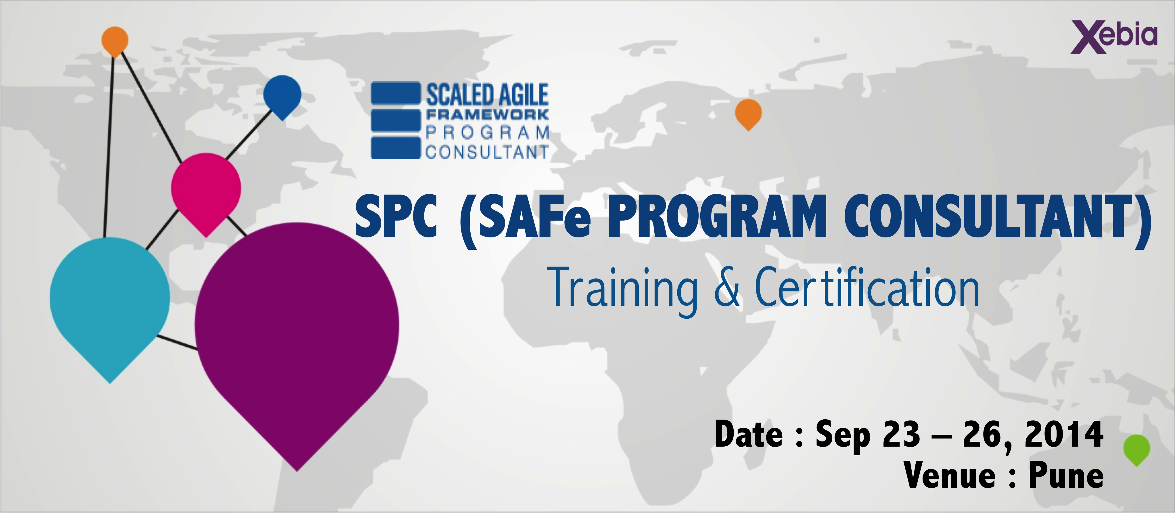 SPC (SAFe Program Consultant ) Training and Certification - Pune