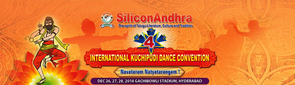 Book Online Tickets for SiliconAndhra 4th International Kuchipud, Hyderabad.   Siliconandhra 4th International Kuchipudi Dance Convention