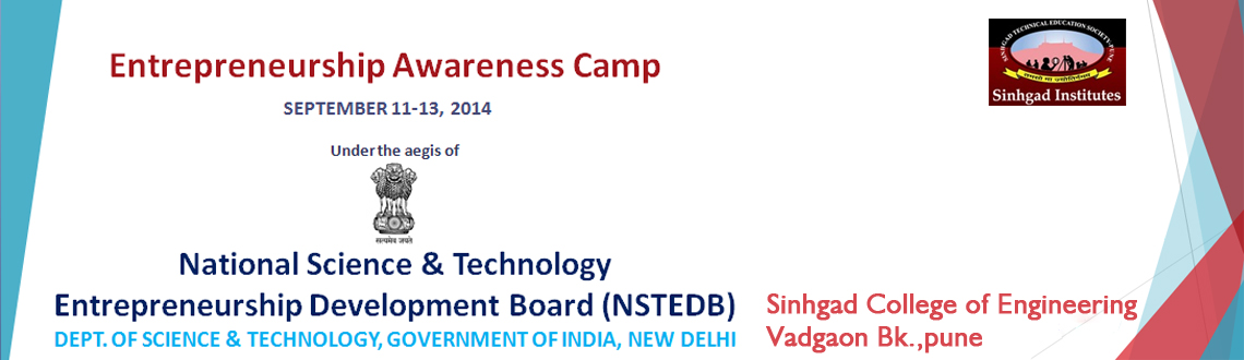 Book Online Tickets for ENTREPRENEURSHIP AWARENESS CAMP 2K14, Pune. Do you have great idea you want to work on with ? Do you want to become entrepreneur ?