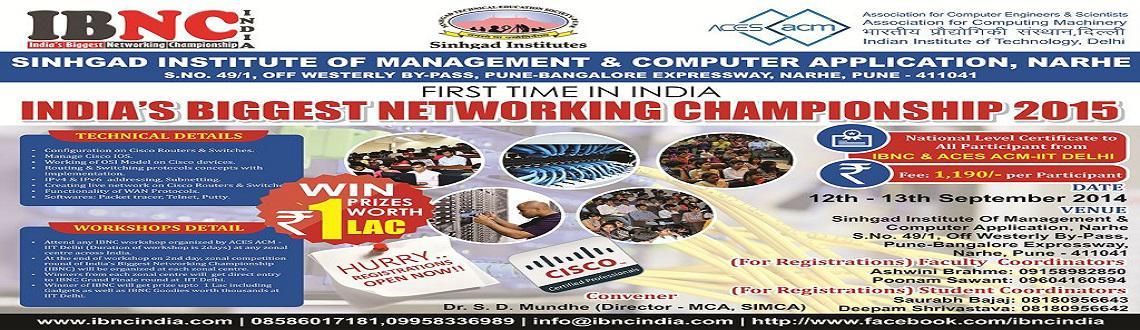Cisco workshop by IBNC India, Networking workshop at Sinhgad narhe, ACM IIT Delhi workshop, networking workshop, Routers  Switches workshop at Pune.