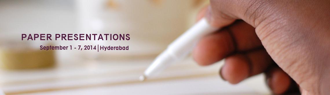 Paper Presentations - Sreevision14