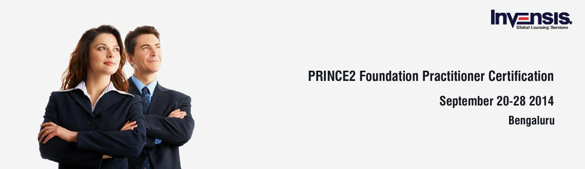 Book Online Tickets for PRINCE2 Foundation Practitioner Certific, Bengaluru. Invensis Learning is conducting 4-day full-time, spread over two weekends PRINCE2® Foundation and Practitioner Certification Training Course in Bangalore, India. Get PRINCE2 (Projects In Controlled Environment) certified in Bangalore in
