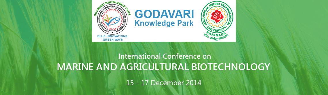 1st International Conference on Agricultural, Marine  and Pharma Biotechnology