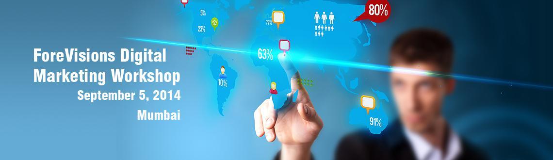 ForeVisions Digital Marketing  Workshop