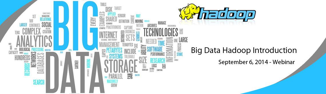 Big Data  Hadoop Introduction Free Session by Ex- Amazon Data Scientist