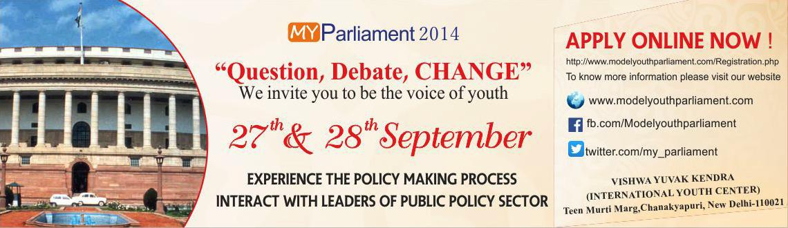 Model Youth Parliament 2014