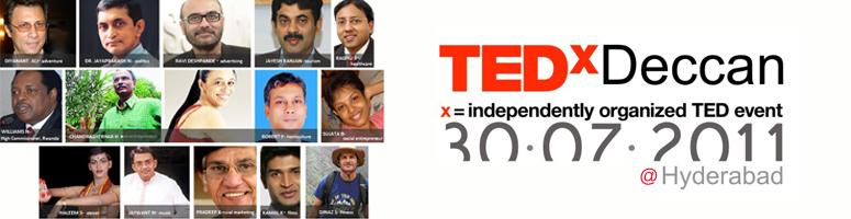 TEDx Deccan - Theme: Beautiful Ideas, Hyderabad, India