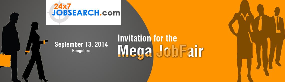 Invitation for the Mega JobFair @Bangalore.