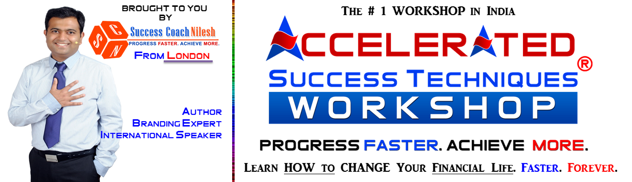 Accelerated Success Techniques Workshop Pune (INDIA) Jan-2015