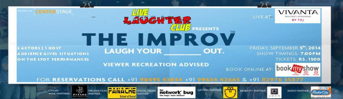 Live Laughter Club Presents The IMPROV By Centerstage