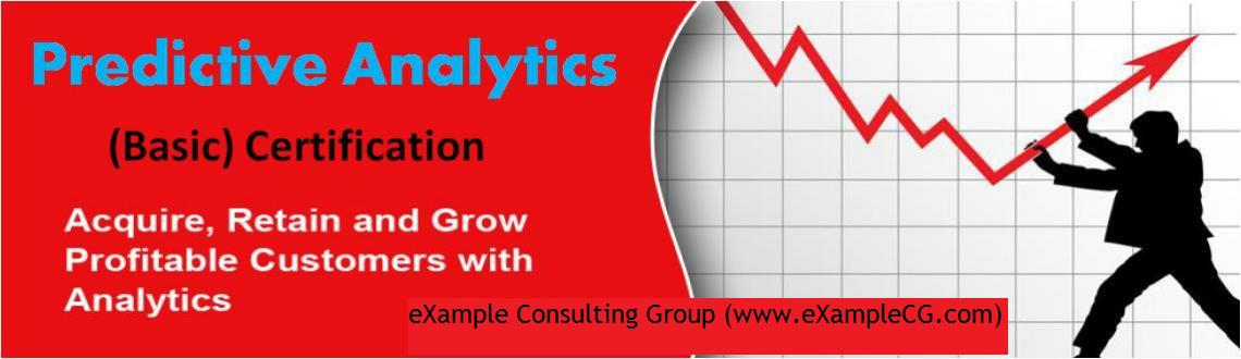 Predictive Analytics Certification Training @ Bangalore (Feb 2015)