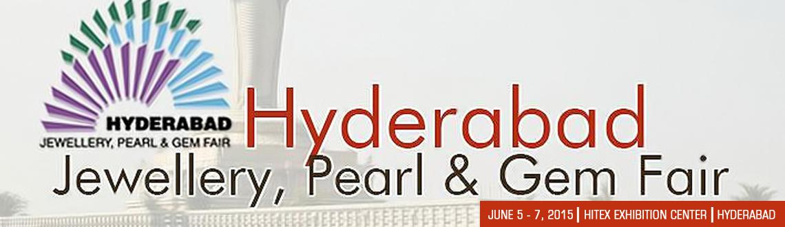Book Online Tickets for Hyderabad Jewellery Pearl and Gem Fair, Hyderabad.    Hyderabad Jewelry, Pearl and Gem Fair is one of the premier jewelry sector trade shows in India. With more than 4000 business participants, the show easily ranks as one of the most well-attended events of its kind in the country. More than 140
