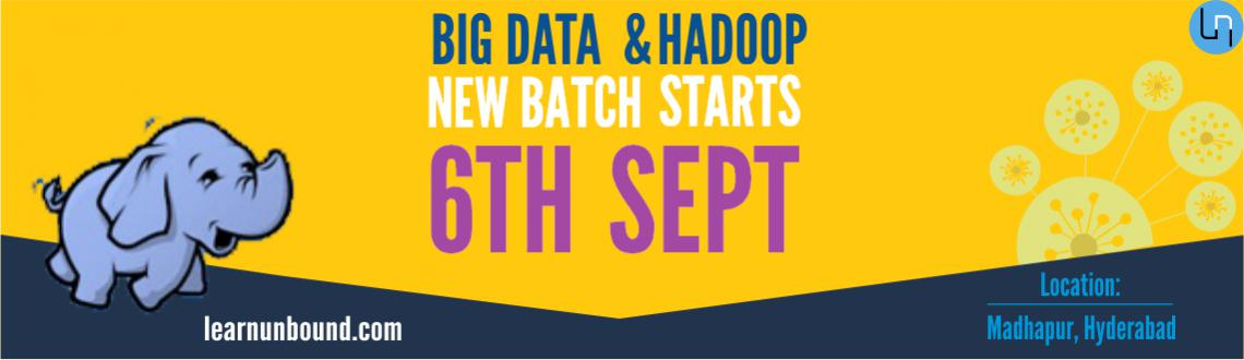 Book Online Tickets for Big Data and Hadoop Developer Course, Hyderabad. A 30+ hours of instructor led Classroom and Online Live training program for Big Data and Hadoop by Haducation, the experts in Hadoop and BI training. There will be 3 hours of classes each day (6 Hrs every week). The course will be completed in 4 wee