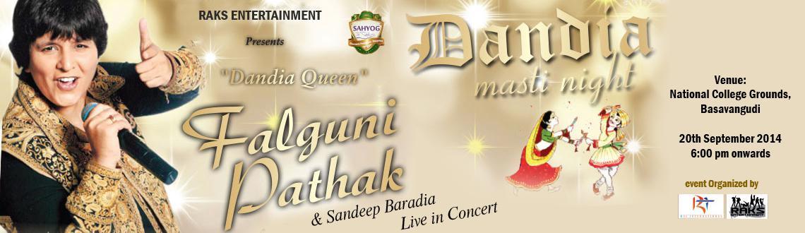 Night with Dandiya Queen Falguni Pathak