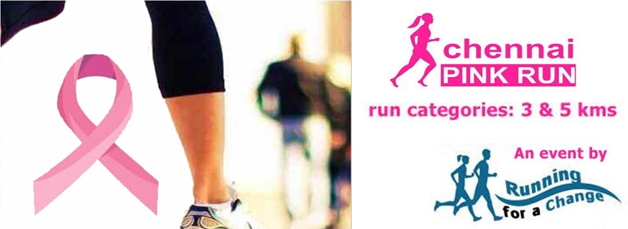 Book Online Tickets for Chennai Pink Run, Chennai. 