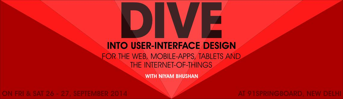 Two day workshop on user-interface design conducted by Niyam Bhushan in New Delhi. Training for newbie, professional, student, startup. corporate.