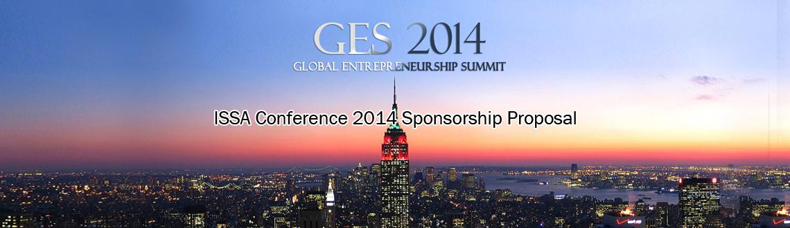 GES2014 - ISSA Conference 2014 Sponsorship Proposal