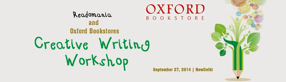 Creative Writing Workshop by Readomania and Oxford Bookstores