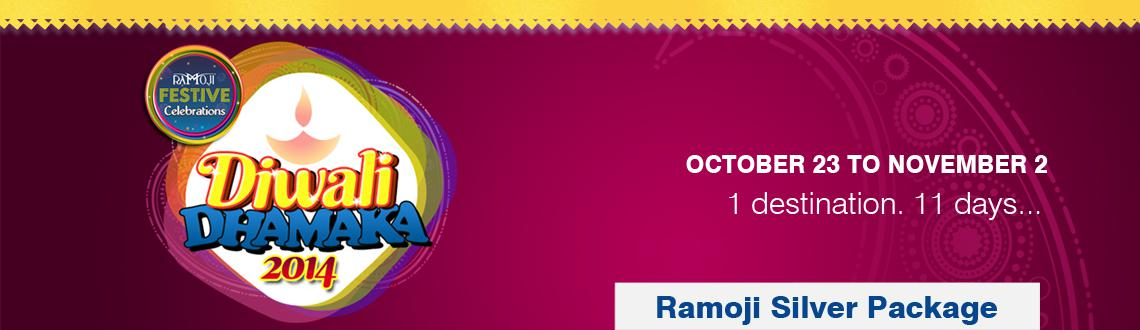 Book Online Tickets for Ramoji Silver Package - Diwali Hangama a, Hyderabad. Ramoji Silver Package (Day Package) - Diwali Hangama at RFC