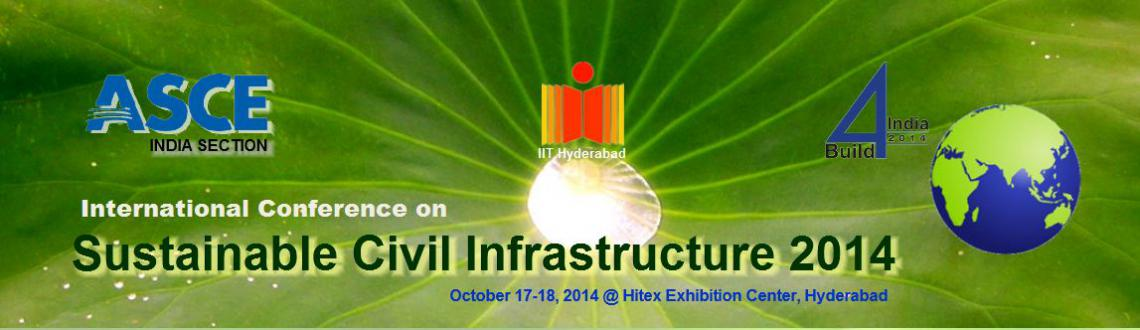 Book Online Tickets for International Conference on Sustainable , Hyderabad. Civil Engineering Infrastructure is an essential component of national's socio-economic development. Rapidly increasing costs of design, construction and maintenance of infrastructure calls for sustainability at each and every stage. Sustainabl