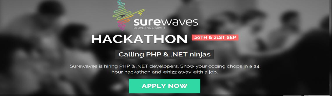 Book Online Tickets for SureWaves Hackathon, Bengaluru. Surewaves is hiring PHP & .NET developers. Show your coding chops in a 24 hour hackathon and whizz away with a job.Join our 24 hours hackathon with Surewaves and showcase your coding skills. Interact with Surewaves team and grab a job if you rise