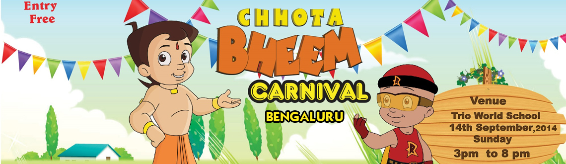 Chhota Bheem at Trio World School