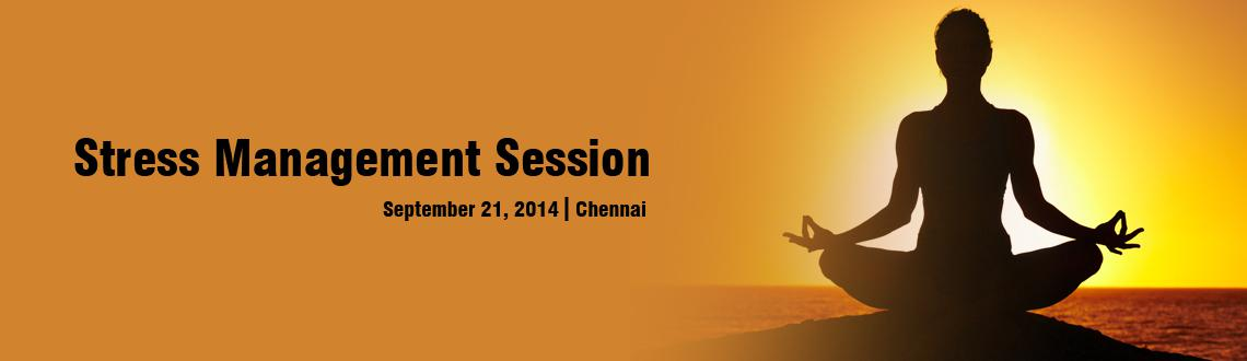 Stress Management Session @ Chennai