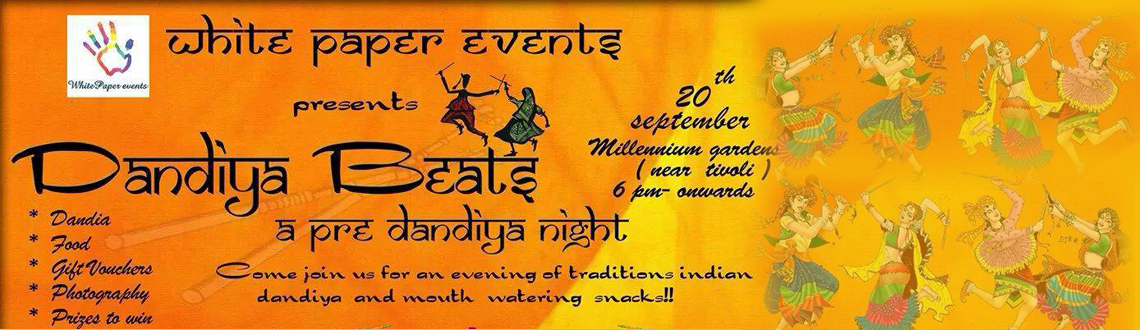 Book Online Tickets for Dandia Beats 2014, Hyderabad. Pre dandiya night, a special treat to students and corporates.