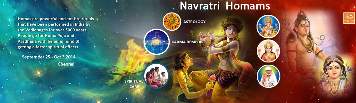 Navratri 2014 Series of Homams