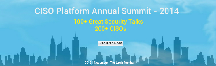 CISO Platform Annual Summit - 2014 Registration