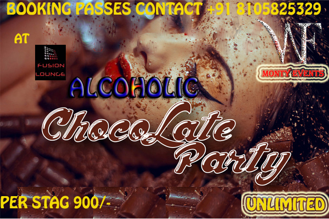 alcoholic chocolate party