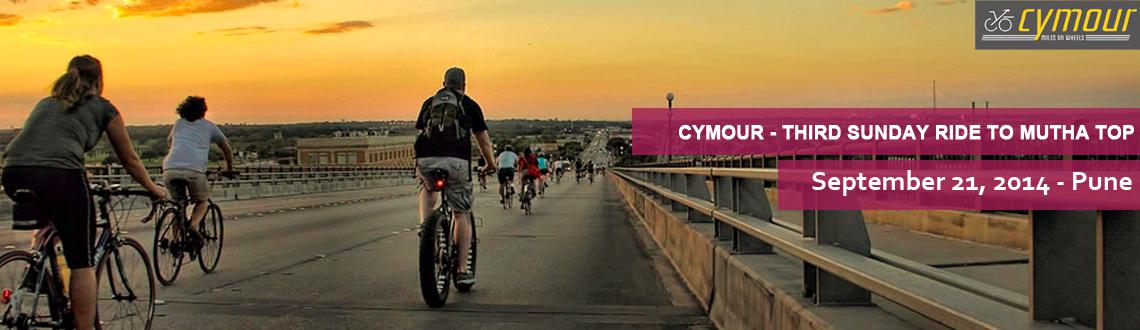 Book Online Tickets for Cymour - Third Sunday Ride - Mutha Top, Pune. Start Point: CCD, Chandani Chowk at 6.15 am Route: Chandani Chowk - Pirangut - Mutha - Chandani Chowk Total Distance: 40 kmBreakfast, Backup and Mechanic arranged. Come with Friends and Family. Diffculty Level : ModerateHelmet are mandatory.