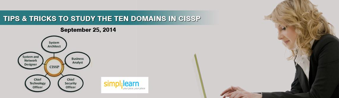 Book Online Tickets for Simplilearns Online Free Webinar Delhi  , .     Simplilearnis a leading provider of a suite of professional certification courses that address unique learning needs of working professionals. 100,000+ CUSTOMERS, 150+ COUNTRIES, 100+ COURSES Attend Simplilearn Free CISSP Online Webinar on