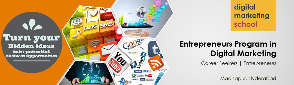Digital Marketing school is renowned  professional institution that trains corporates, marketing professionals, start up owners, entrepreneurs.