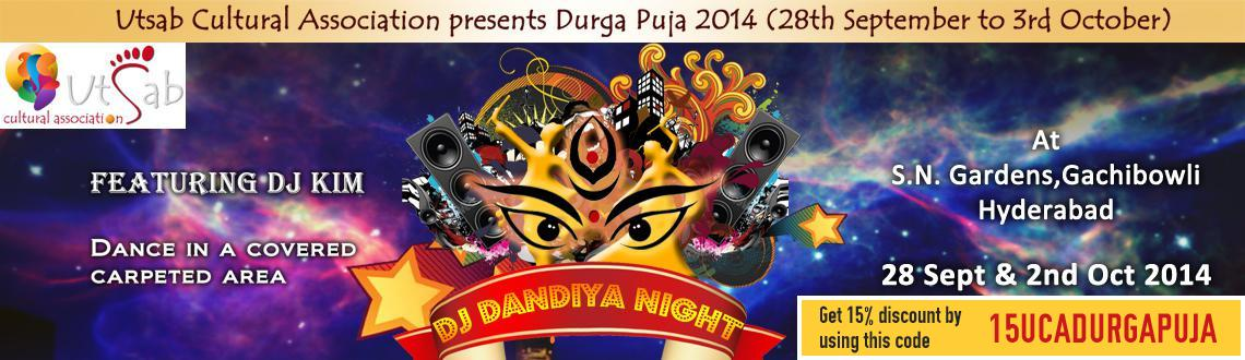 Book Online Tickets for DJ Dandiya Night at Gachibowli, Hyderabad. Come celebrate Dandiya this year with Utsab!