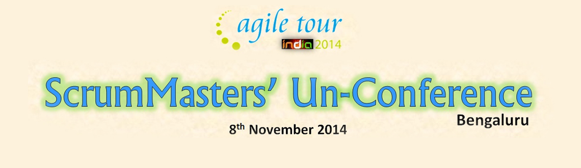 Book Online Tickets for Agile Tour 2014-Bengaluru- ScrumMasters , Bengaluru. In the 5th year of Agile Tour in India, India Scrum Enthusiasts Community (ISEC) proudly brings you Agile Tour 2014 Bengaluru.