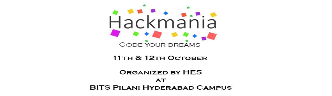 Book Online Tickets for HackMania , Hyderabad. HackMania is a two-day tech hackathon, which will be held at BITS Pilani Hyderabad Campus and is one of its kind hackathon in the city and will take on other cities too, moreover here in two days breathtaking products will be developed & showcase