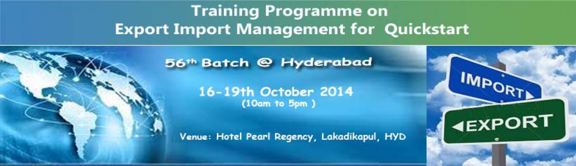 Fast Track Course on Export Import Management