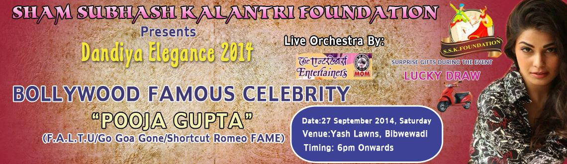 Book Online Tickets for Dandiya Elegance 2014 @ Yash Lawns on 27, Pune. 