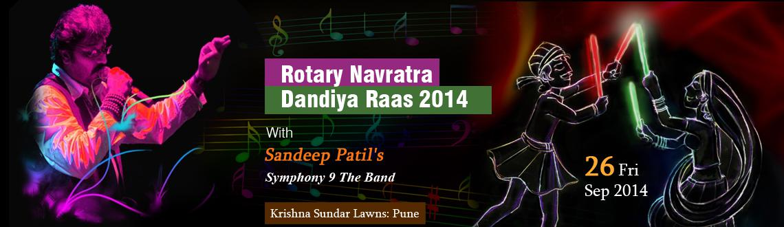 Rotary Navratra Dandiya Raas 2014 With Sandeep Patils Symphony 9 The Band