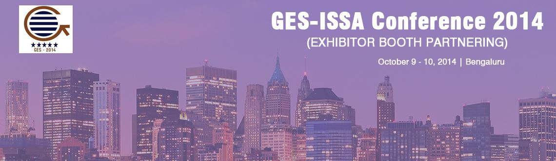 GES-ISSA Conference 2014 (EXHIBITOR BOOTH PARTNERING)
