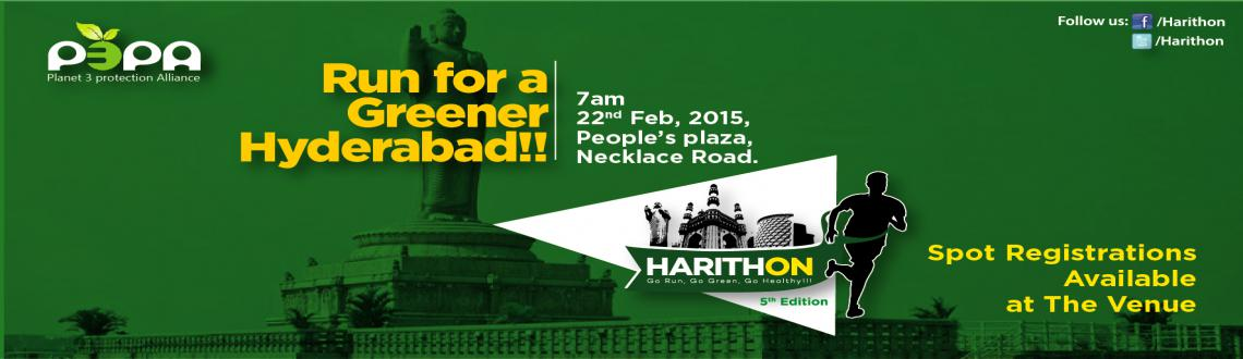 Harithon 2015: Green Run, February 22, 2015, Peoples Plaza, Necklace Road, Hyderabad.