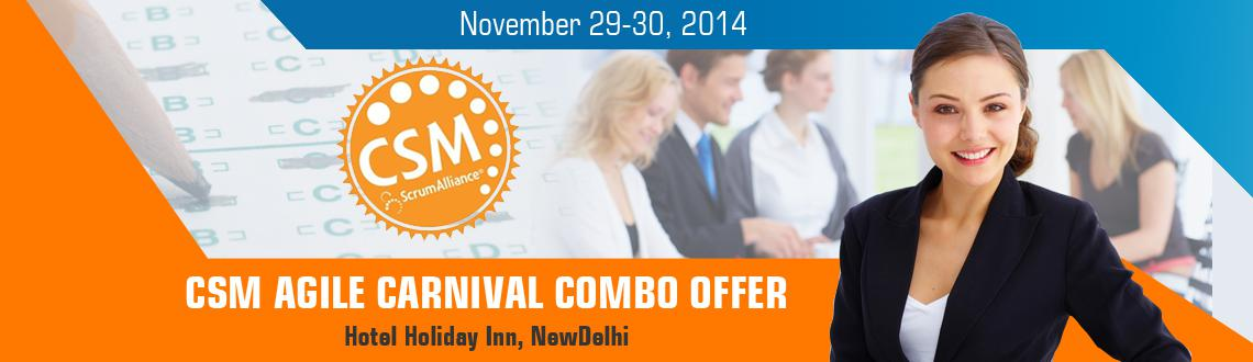 Book Online Tickets for CSM (Certified Scrum Master)  - Agile No, NewDelhi. IF YOU ARE A PERSON, who believes in challenging status quo, trust in continuousimprovement and you believe that youcan make the difference at the workplace as achange agent by learning in depth SCRUM? Then this workshop isJUS