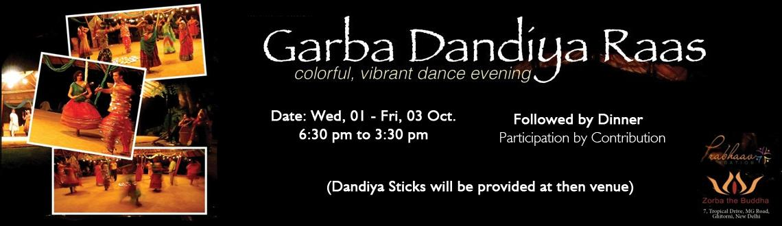 Book Online Tickets for Garba Dandiya Raas, NewDelhi.  
