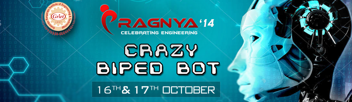 "Book Online Tickets for Biped Robot Workshop-Pragnya14, Hyderabad. For the 1st time in India, introducing ""Crazy Biped Bot"" on ARDUINO, Servo mechanics &