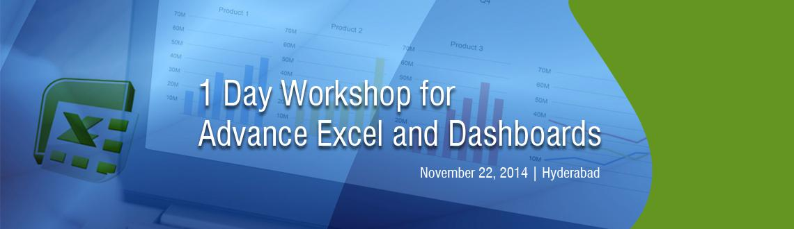 Excel Training 1 day workshop.