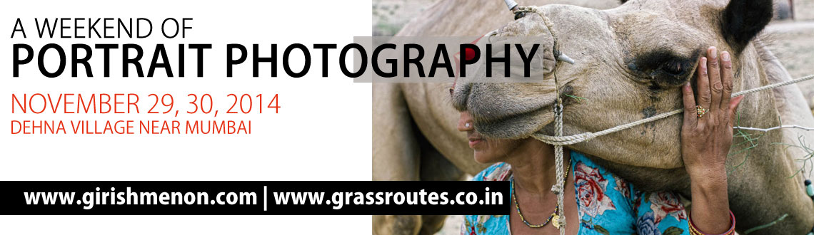 Grassroutes - Photography Workshop with Girish Menon