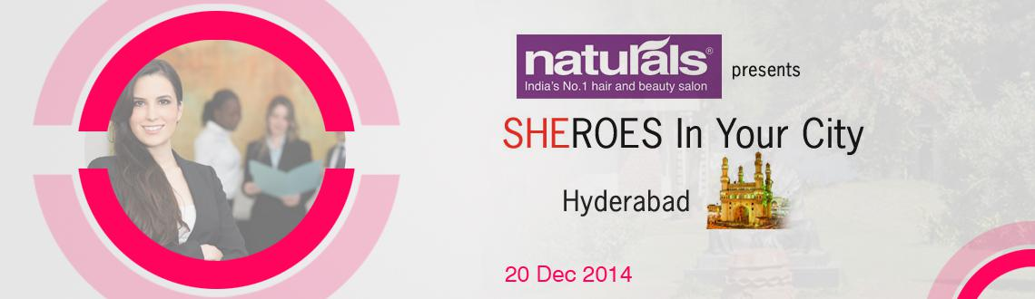 Book Online Tickets for SHEROES Summit Hyderabad 2014, Hyderabad. SHEROES in Your City is India\\\'s largest Women\\\'s Career event. SHEROES in Your City is your chance to put your career and work life choices in top gear. SHEROES in Your City has a special focus on women entrepreneurs and women owned busi