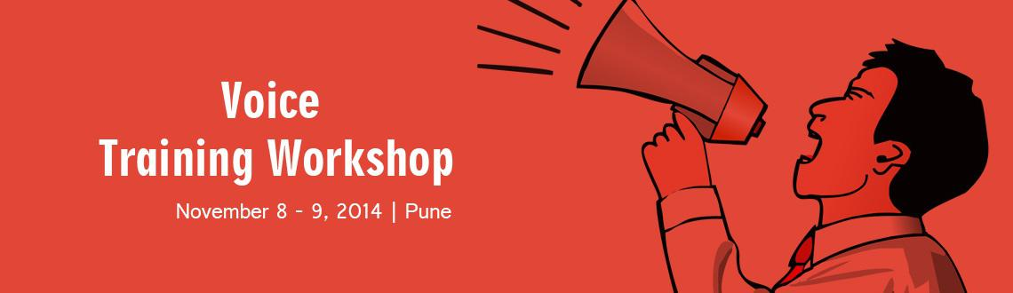 Book Online Tickets for voice training workshop, Pune. this workshop is aimed at giving your voice that confident edge over others on public speaking platforms along with preparing you for professional voiceovers etc. we would also share our expertise on how to set up your own home studio.