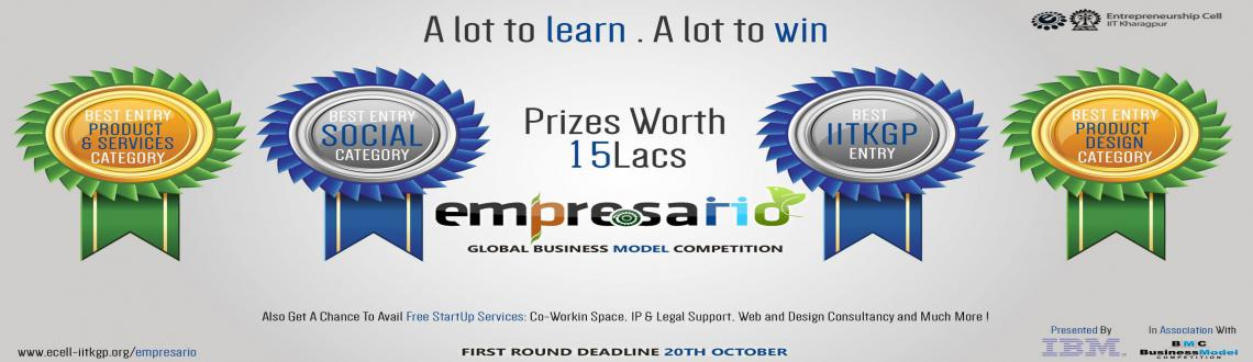 Book Online Tickets for Global Business Model Competition Empres, Kharagpur. Empresario'15 :